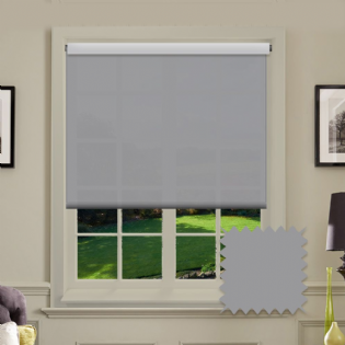 Grey Roller Blind - Astral Bullet